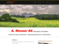 A.Mooser SA, engins agricoles et forestiers