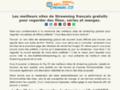 Détails : Top 20 des meilleurs sites de streaming français