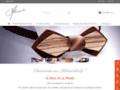 Melissambre - cravates en bois d'exception