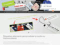 Détails : Etiquettes et rubans personnalisés sur Saint-Etienne