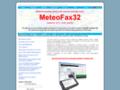 MétéoFax32 décodage de cartes météo, photos satellites et telex en mer par blu et pc sans connexion internet