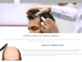Détails : microgreffe de cheveux
