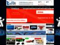 Capture du site http://www.miniplanes.fr