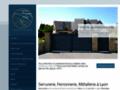 Détails : Fabricant de portails acier Lyon, Portails Lyon - Mions portail