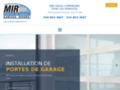 Détails : Mir Portes De Garage Inc