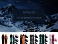 Détails : Casque et masque de ski - Mitéa