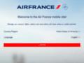 mobile sur mobile.airfrance.com