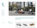 Détails : Mobilier urbain en béton