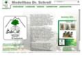 Laub und Nadelbäume für Modellbau