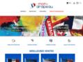 Détails : mon-drapeau.com le spécialiste du drapeau personnalisé