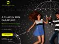Détails : Parapluie transparent
