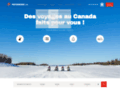 Détails : Raid motoneige : vacances au Canada
