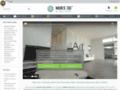 Détails : Revêtement mural en 3D