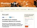 Webzine d'actualité musicale : Musique Zine