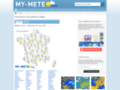 Capture du site http://www.my-meteo.fr