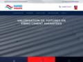 Détails : rénovation toiture amiantée