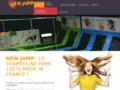 Détails : Parc indoor de trampoline