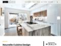 Voir la fiche détaillée : Armoires de cuisine à Montréal