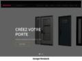 Détails : Porte d'entrée et fenêtre de porte Novatech