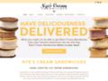 Nye's Cream Sandwiches