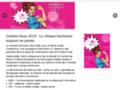 Détails : Octobre rose - clinique Hartmann - Mois de sensibilisation contre le cancer du sein