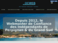 Détails : OCWEB.fr Webmaster à Perpignan
