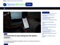 Voir la fiche détaillée : Optionbinairemag : Explications sur les options binaires