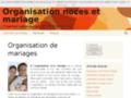 Organisation reception mariage