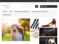 Robe ou Tunique dos-nu noire paillettes : vente en ligne sur Originalemode