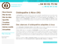 Ostéopathe Nice - Ostéopathe Nice sciatique