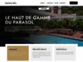 Détails : Parasol grand palace