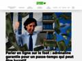 Détails : Parier en ligne avec premier pari remboursé