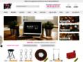 Détails : Boutique de déco en ligne