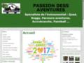 Détails : PASSION DESS AVENTURES le spécialiste de l'événementiel dans l'Oise 60.