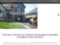Pavco pavage et excavation |Service d'excavation, terrassement et pavage au Québec