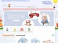 Détails : Cadeau de naissance bébé, jouet en bois, peluche, doudou, jeu - Peluches et jouets en bois