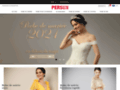 Détails : Robe de fête pas cher vente en ligne