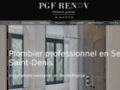 Détails : Plomberie : PGF Rénov à Bobigny (93)
