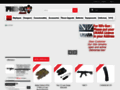 Capture du site http://www.phenixairsoft.com