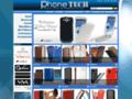 Capture du site http://www.phonetech.fr/