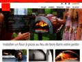 Détails : Achat en ligne de fours à pizzas au feu de bois