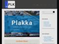 Capture du site http://www.plakka.com