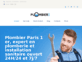 D�tail SITE http://plomberieparis-1er.fr