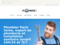 Détails : plombier paris