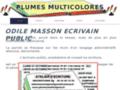 Détails : plumesmulticolores