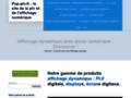 Voir la fiche détaillée : POP-PLV.FR : le site de la plv numérique