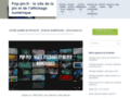 Détails : Affichage publicitaire avec écran LED