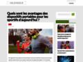 Détails : Site pour des informations et l'actualité en continu