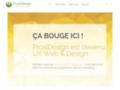 Proxidesign.be: Création de site internet à Brabant Wallon