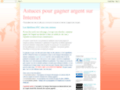Détails : Astuces pour gagner argent sur Internet